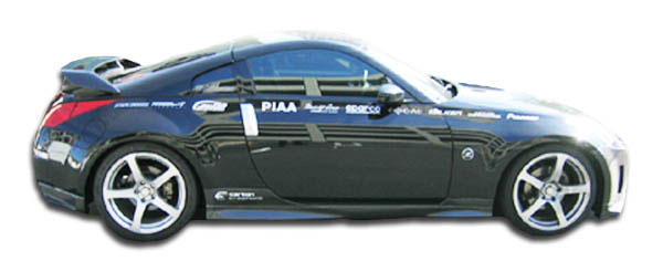 Carbon Creations 102794 | Nissan 350Z Carbon Creations N-1 Side Skirts Rocker Panels 2-Piece; 2003-2008
