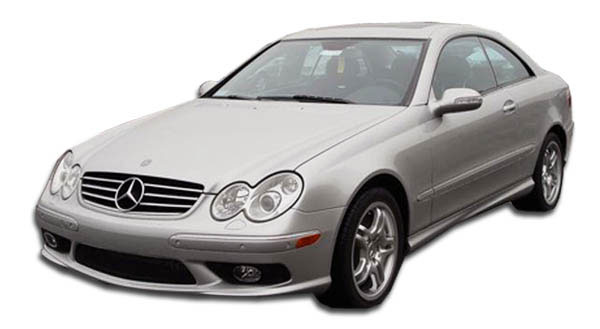 Duraflex 103085 | Mercedes CLK CLK320 CLK350 CLK550 CLK500 CLK55 CLK W209 Duraflex AMG Look Front Bumper Cover 1-Piece; 2003-2009