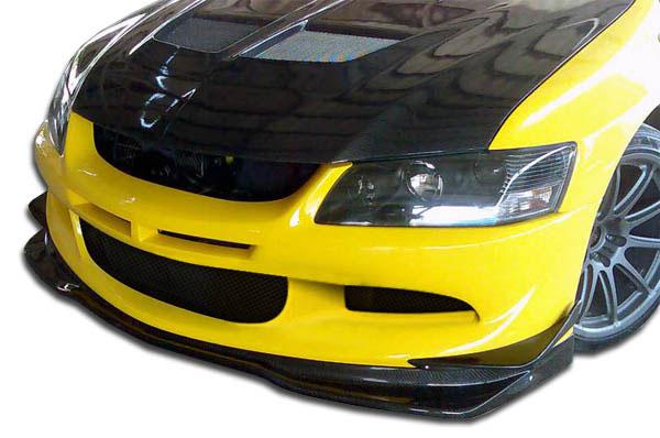 Carbon Creations 105856 | 2003-2005 Mitsubishi Lancer Evolution 8 Carbon Creations VR-S Front Lip Under Spoiler Air Dam - 1 Piece