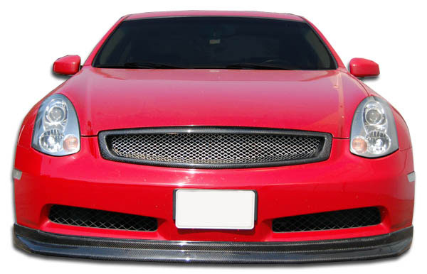 Carbon Creations 105664 | Infiniti G Coupe G35 Carbon Creations D-Spec Front Lip Under Spoiler Air Dam (non sport) 1-Piece; 2003-2007