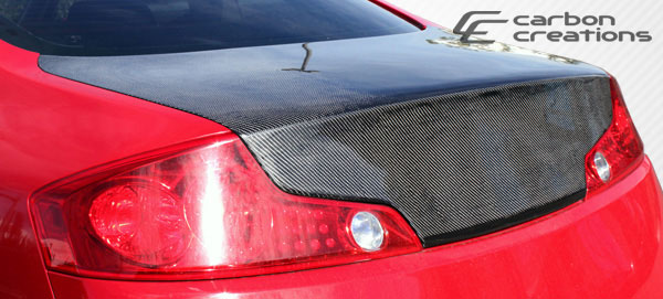 Carbon Creations 105738 | 2003-2007 Infiniti G Coupe G35 Carbon Creations OEM Trunk - 1 Piece