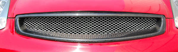 Carbon Creations 105666: 2003-2007 Infiniti G Coupe G35  Sigma Grille - 1 Piece