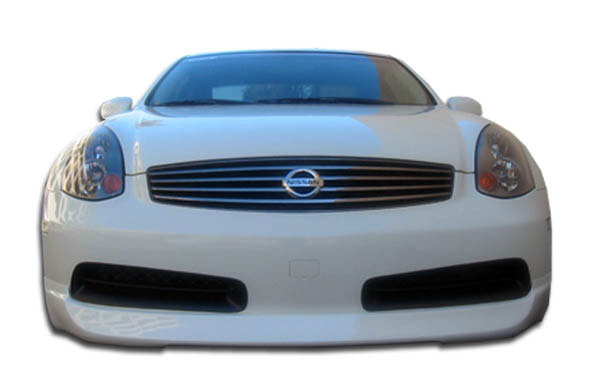 Extreme Dimensions 102628: 2003-2007 Infiniti G Coupe G35 Polyurethane I-Spec Front Lip Under Spoiler Air Dam - 1 Piece