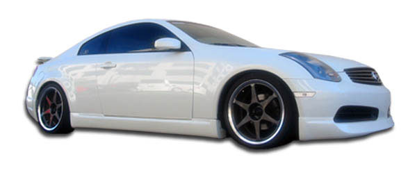 Extreme Dimensions 102630:  2003-2007 Infiniti G Coupe G35 Polyurethane I-Spec Side Skirts Rocker Panels - 2 Piece