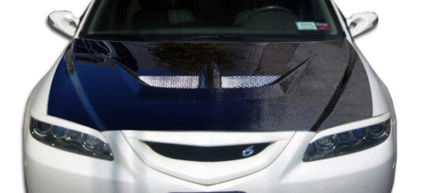 Carbon Creations 104192: 2003-2008 Mazda 6 Carbon Creations Evo Hood - 1 Piece