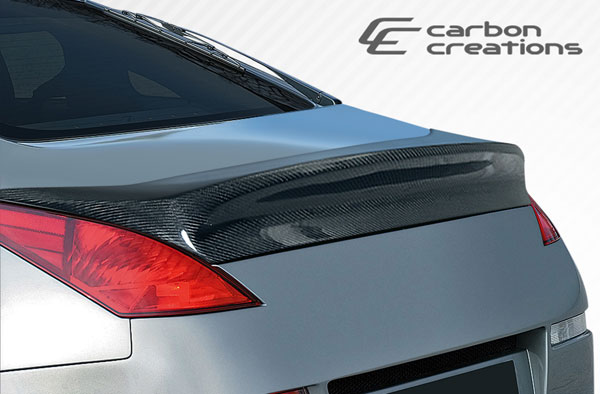 Carbon Creations 107074 | 2003-2008 Nissan 350Z 2DR Coupe Carbon Creations I-Spec Wing Trunk Lid Spoiler - 1 Piece