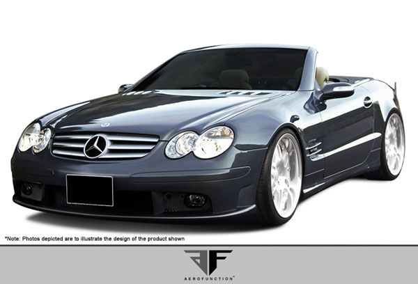 Aero Function 107393: 2003-2008 Mercedes SL Class R230 AF-1 Front Bumper Cover ( GFK ) - 1 Piece