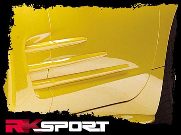 RKSport 04011003   Corvette C5 RK5 Door Strikes pair; 1997-2004