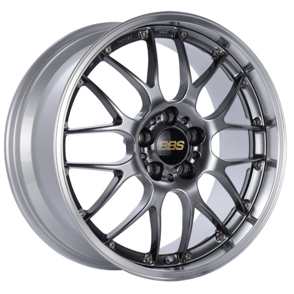 BBS RS976DBPK | RS-GT 19x8.5 5x130 ET53 CB71.6 Diamond Black Center Diamond Cut Lip Wheel