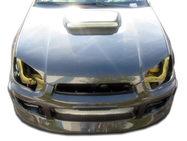 Carbon Creations 100598 | Subaru Impreza WRX STI Carbon Creations STI Look Hood 1-Piece; 2004-2005