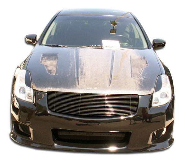 Duraflex 104133 | Nissan Maxima Duraflex GT-R Front Bumper Cover 1-Piece; 2004-2006