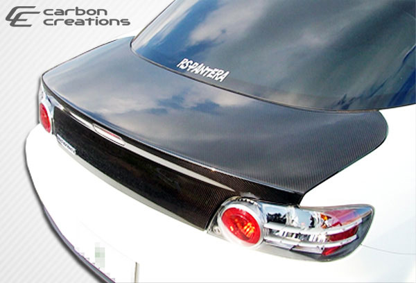 Carbon Creations 102888 | Mazda RX-8 Carbon Creations OEM Trunk 1-Piece; 2004-2011