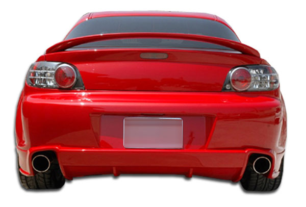 Extreme Dimensions 102638: 2004-2011 Mazda RX-8 Polyurethane M-1 Speed Rear Bumper Cover - 1 Piece