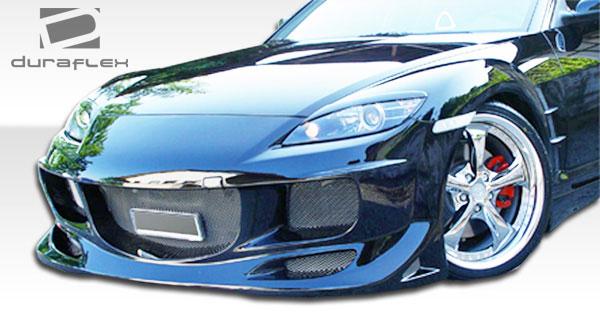 Duraflex 103154 | Mazda RX-8 Duraflex R-Speed Front Bumper Cover 1-Piece; 2004-2008