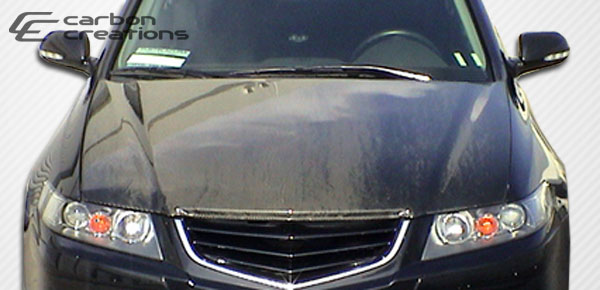 Carbon Creations (102634) 2004-2005 Acura TSX Carbon Creations OEM Hood - 1 Piece