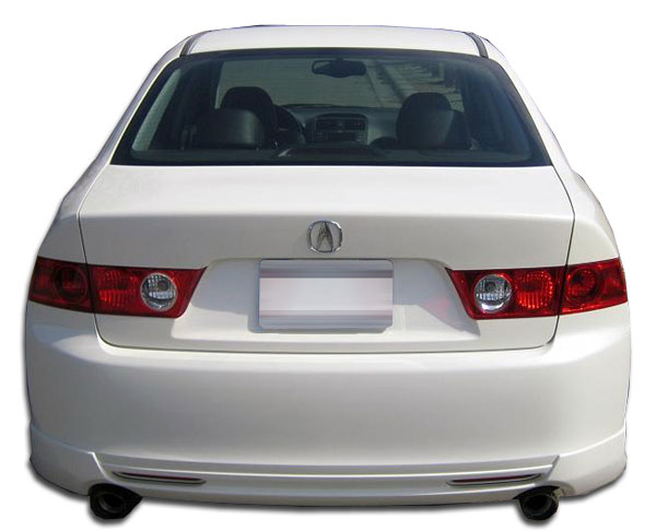 Duraflex 105225 | Acura TSX Duraflex J-Spec Rear Lip Under Spoiler Air Dam 1-Piece; 2004-2005