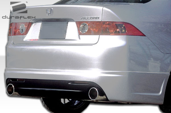 Duraflex 100542 | 2004-2005 Acura TSX Duraflex K-1 Rear Lip Under Spoiler Air Dam - 1 Piece