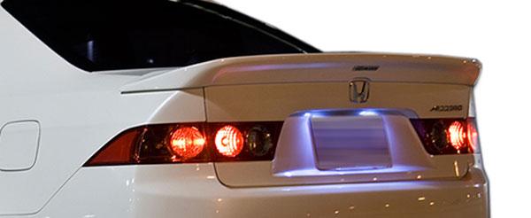Duraflex 107058 | 2004-2008 Acura TSX Duraflex Type M Wing Trunk Lid Spoiler - 1 Piece