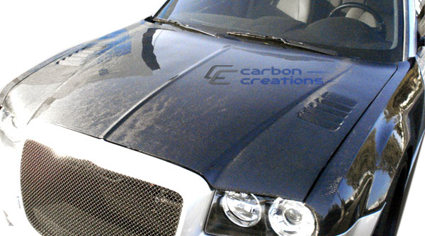 Carbon Creations 104046: 2005-2010 Chrysler 300 300C Carbon Creations Executive Hood - 1 Piece