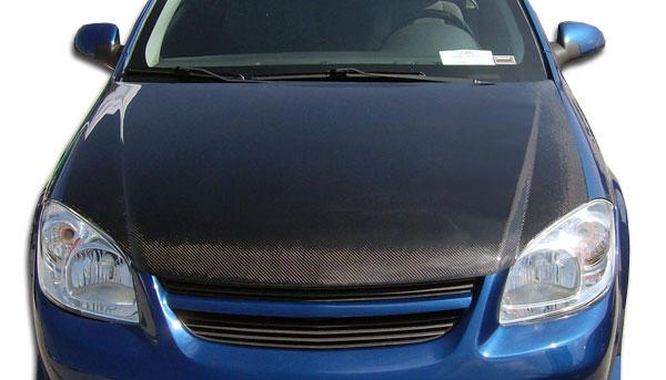 Carbon Creations 104745 | Chevrolet Cobalt Pontiac G5 Carbon Creations OEM Hood 1-Piece; 2005-2010