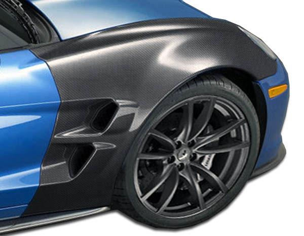 Carbon Creations 105774 | 2005-2013 Chevrolet Corvette C6 Carbon Creations ZR Edition Front Fenders - 2 Piece