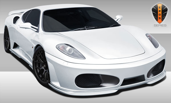 Duraflex 107957    Ferrari F430 Eros Version 1 Body Kit 9-Piece; 2005-2009