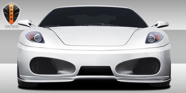 Duraflex 107729    Ferrari F430 Eros Version 1 Front Lip Under Spoiler Air Dam 1-Piece; 2005-2009