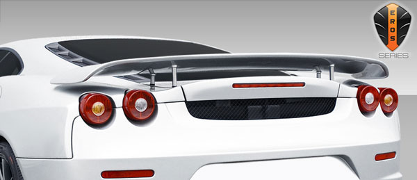 Duraflex 107732 |  2005-2009 Ferrari F430 Convertible Eros Version 1 Wing Trunk Lid Spoiler - 1 Piece