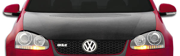 Carbon Creations 105244: 2005-2009 Volkswagen Jetta 2006-2009 Golf GTI Rabbit Carbon Creations OEM Hood - 1 Piece