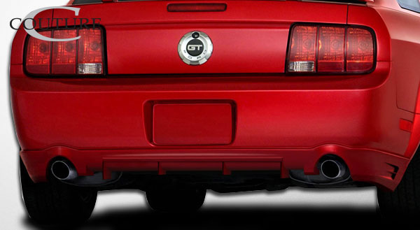 Couture 104793 | Ford Mustang Couture Demon Rear Lip Under Spoiler Air Dam 1-Piece; 2005-2009