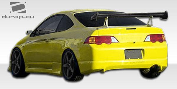 Duraflex 107159 | Acura RSX Duraflex J-Spec Rear Lip Under Spoiler Air Dam 1-Piece; 2005-2006