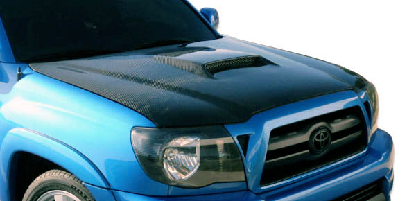Carbon Creations 104743: 2005-2009 Toyota Tacoma Carbon Creations SR5 Hood - 1 Piece