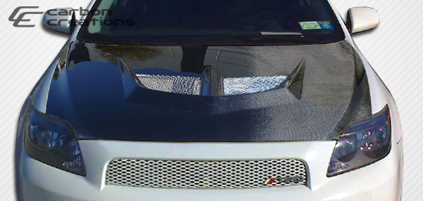 Carbon Creations 104183: 2005-2010 Scion tC Carbon Creations Evo Hood - 1 Piece