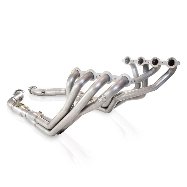 Stainless Works 05GTOHCAT:  2005 - 2006 Pontiac GTO LS2 Headers w. Catted Lead Pipes 1-3/4in