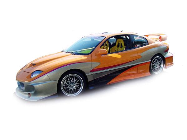 RKSport 06018000 | StreetFire Body Kit; 1995-2002