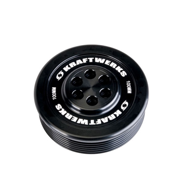 KraftWerks 159-99-1007 | Supercharger Pulley - 100mm 7 Rib