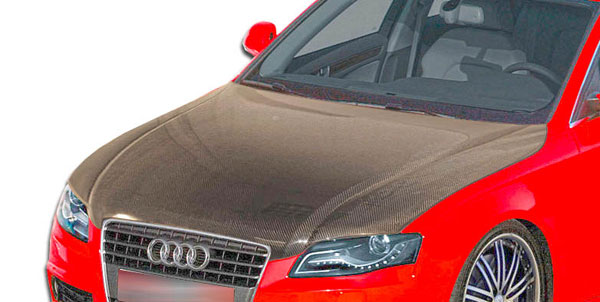 Carbon Creations 106274 | 2006-2008 Audi A4 S4 2DR 4DR Wagon Carbon Creations OEM Hood - 1 Piece