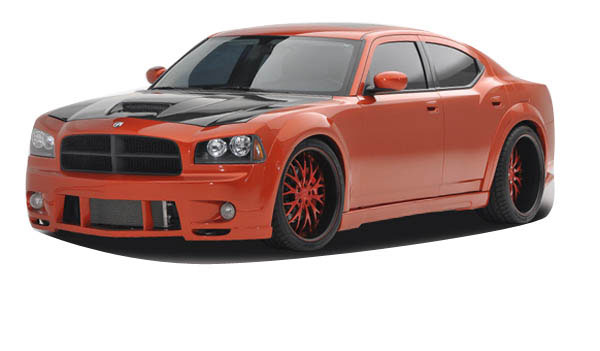 Couture 104818: 2006-2010 Dodge Charger Couture Luxe Wide Body Kit - 10 Piece
