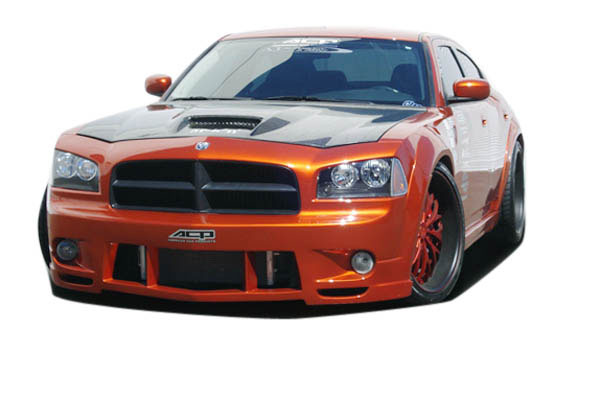 Couture 104812: 2006-2010 Dodge Charger  Luxe Wide Body Front Bumper Cover - 1 Piece