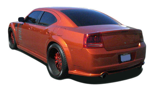Couture 104814 | Dodge Charger Couture Luxe Wide Body Rear Bumper Cover 1-Piece; 2006-2010