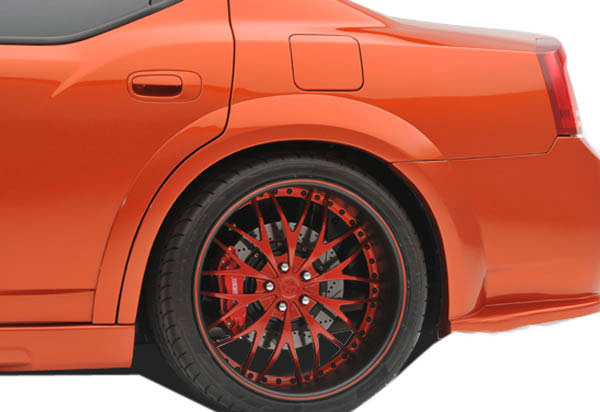 Couture 104816: 2006-2010 Dodge Charger Couture Luxe Wide Body Rear Fender Flares - 2 Piece