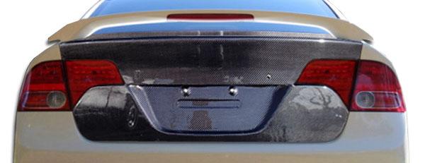 Carbon Creations 104750 | 2006-2011 Honda Civic 4DR Carbon Creations OEM Trunk - 1 Piece