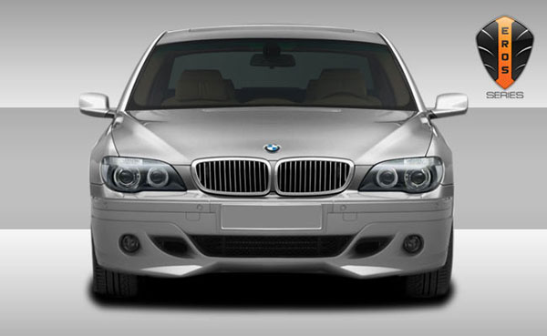 Couture 106904:  2006-2008 BMW 7 Series E65 E66 Eros Version 1 Front Lip Under Spoiler Air Dam - 1 Piece