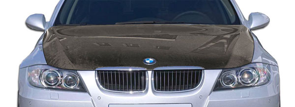Carbon Creations 106287: 2006-2008 BMW 3 Series E90 4DR  OEM Hood - 1 Piece