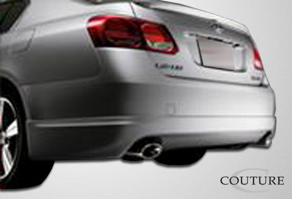 Couture 106946: 2006-2011 Lexus GS Series GS300 GS350 GS430 GS450 GS460  J-Spec Rear Lip Under Spoiler Air Dam - 1 Piece
