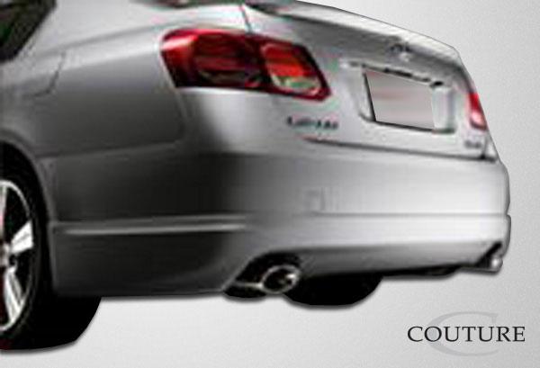 Couture 106946 | Lexus GS Series GS300 GS350 GS430 GS450 GS460 Couture J-Spec Rear Lip Under Spoiler Air Dam 1-Piece; 2006-2011