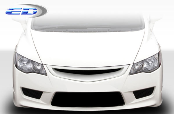 Extreme Dimensions 108043: 2006-2011 Honda Civic 4dr JDM Type R Conversion Headlights - 2 Piece