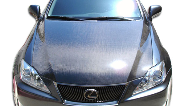 Carbon Creations 103410: 2006-2013 Lexus IS Series IS250 IS350 IS250C IS350C Carbon Creations OEM Hood - 1 Piece