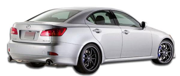 Couture 106943 | Lexus IS Series IS250 IS350 Couture J-Spec Rear Lip Under Spoiler Air Dam 1-Piece; 2006-2013