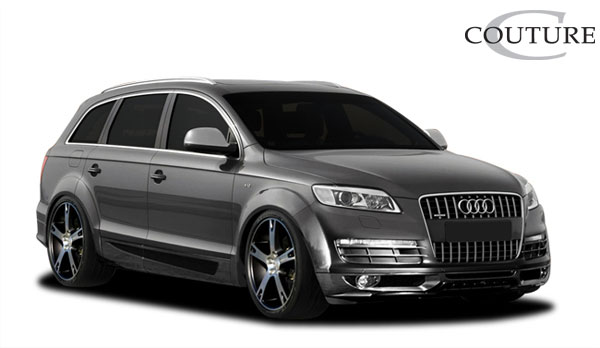 Couture 107014 | Audi Q7 Couture A-Tech Front Lip Under Spoiler Air Dam 1-Piece; 2007-2008